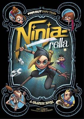 Ninja-rella: A Graphic Novel (Far Out Fairy Tales), Comeau, Joey, New Book