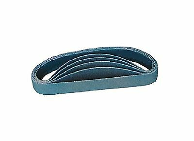 "Nitto Kohki U40001 Aluminum Oxide Sanding Belt for Belton Sander 3/8"" x 1... New"