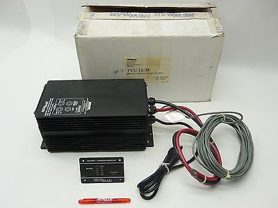 New Newmar Puc 12-35 Water Resistant Battery Charger 12Vdc 35A 440-4910-0 Rev A