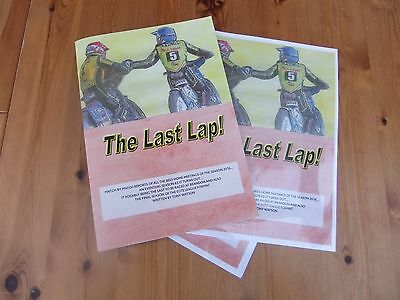 The Last Lap  ------A Book With A Purpose