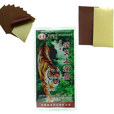 Tiger Balm Plaster Patch - Warm- 4 Patches 7cm x 10cm for muscular pain SPP8