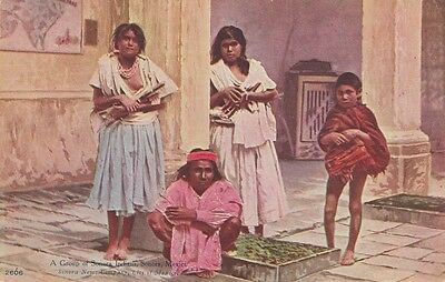 NATIVE AMERICANA ~ A GROUP OF SONORA INDIANS, SONORA, MEXICO ~ c1910