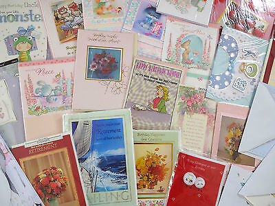 200 Greeting Cards High Quality Wholesale Mixed Bundle Birthdays Occasions Pack