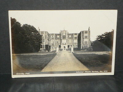 Leicestershire - Quenby Hall r/p