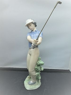 NAO by Lladro LADY GOLFER  Excellent condition model 02010451