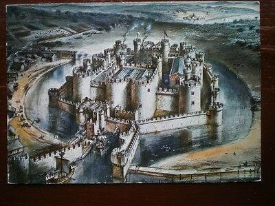 Postcard Anglesey Beaumaris Castle A Drawing