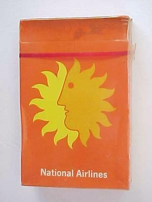 Vintage Early 1970's National Airlines SEALED Deck of Playing Cards