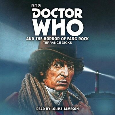 DR WHO & THE HORROR OF FANG ROCK CD, Dicks, Terrance, 9781785295652