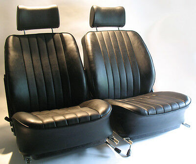 Original 1972 Porsche 911S Recaro Front Seats w/ Headrests & Sliders 901 912 T E