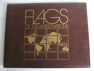 1983 Flags of the United Nations UN Mint Sheetlet Stamp Collection Fleetwood