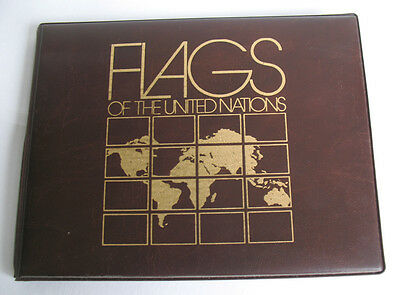 1984 Flags of the United Nations UN Mint Sheetlet Stamp Collection Fleetwood