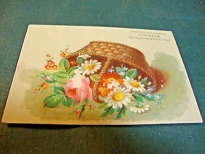 Victorian Trade Card For Carson's Scourene Soap
