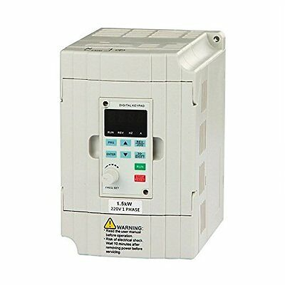 Genorth® VFD Drive Inverter Professional Variable Frequency Drive 1.5KW 2HP 220V