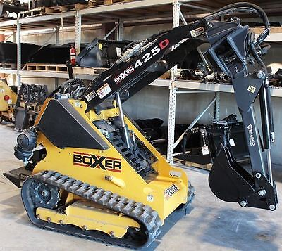 Bobcat Mini Skid Steer MT 50,MT 52 Backhoe Attachment,w/Swing,Digs 5',by Bradco