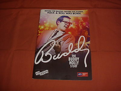 BUDDY THE MUSICAL 2017 Theatre Programme - *NEW*