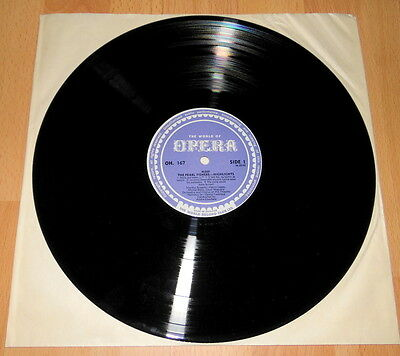 The Pearl Fishers - Bizet - Highlights - W.R.C. NR. Mint LP.