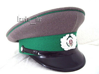 DDR Grenztruppen Schirmmütze Uniform - Mütze 56 East german Border guard hat GDR