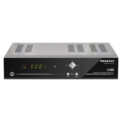 Megasat HD 935 Twin HDTV Sat Receiver Live Stream 500GB Festplatte intern