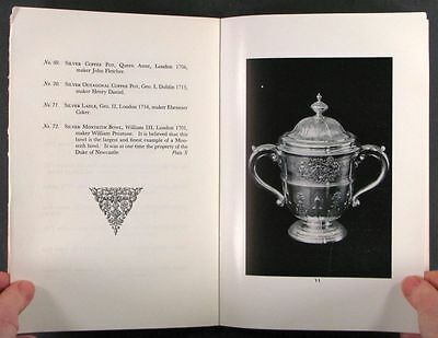 Antique English Silver - 1951 Sterling & Francine Clark Art Institute Exhibition