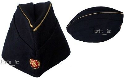DDR NVA Uniform - Mütze Offizier / Kapitän Volksmarine East german army Navy hat