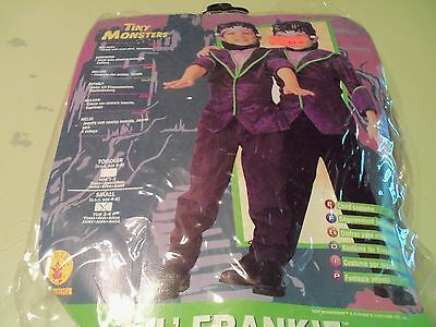 Lil Frankie Frankenstein Halloween Costume Tiny Monsters Size Small Kids 3-4