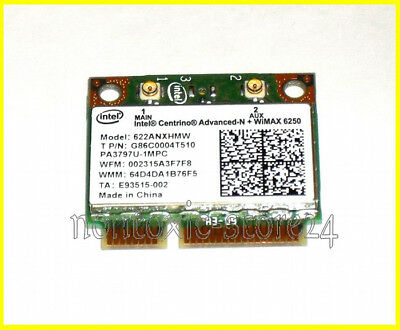 Intel 6250 half size Advanced–N  WiMAX 6250 mini pci-E 622ANXHMW