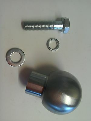 50mm Tow Ball for Lawn Tractor ETC, fits lots of Ride on's.