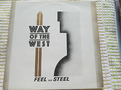 "Way Of The West ‎– Feel The Steel  MCA Records ‎– WEST 2 UK 12"" Vinyl Single"