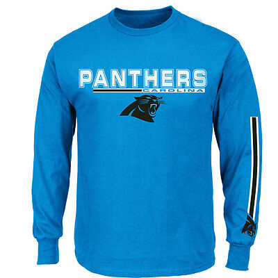 Carolina Panthers Officially licenced NFL Long Sleeve T-shirt