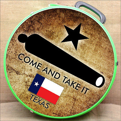 Come And Take It Texas Flag Medium Hilason Heavy Duty Abs Rope Can Horse Lime