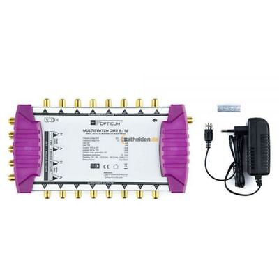 Opticum OMS 9/16 Gold Line Multischalter Multiswitch 2 Satelliten - 16 Teilnehme