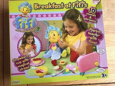 Fifi and the Flowertots Roleplay Breakfast Playset BRAND NEW IN BOX RARE
