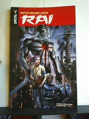 GRAPHIC NOVEL: RAI - VOLUME 2: BATTLE FOR NEW JAPAN Paperback 2015 1st print