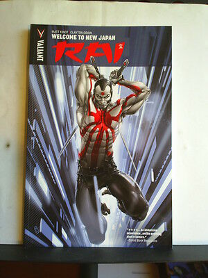 GRAPHIC NOVEL: RAI - VOLUME 1: WELCOME TO THE NEW JAPAN Paperback 2014 1st print