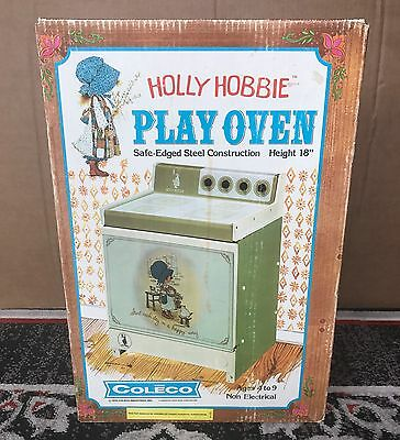 Holly Hobbie Play Oven Stove Kitchen Pretend Toy 1975 Coleco Sealed Vintage 4825