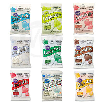Wilton Candy Melts for Cake Pops, Sweets, Chocolates and Cake Decorating 340g