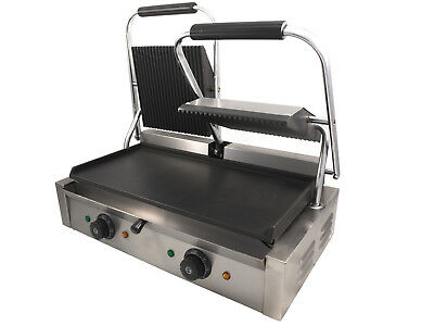 Brand New Double Panini Grill / Contact Grill / Sandwich Press / Toastie Maker