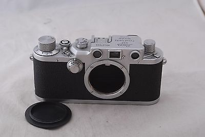 Leica IIIC Shark Skin Camera Body CLA'd in Excellent Condition 3C #427699