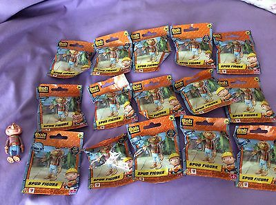 "Bob The Builder Spud Figures X 15 . 3"" Cakes Party Bags New"