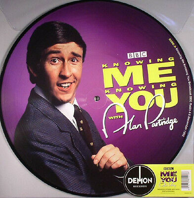 Alan Partridge Knowing Me Knowing You Picture Disc Demrec138 Record Store Day