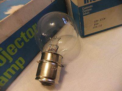 Projector bulb lamp 12V 100W F63 P28s/25 THORN NEW..... 16   fx
