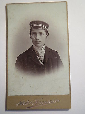 Hannover - Student in Couleur - um 1900/10 - CDV / Studentika