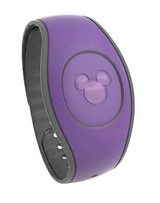 Purple MagicBand 2 Magic Band Disney Parks *Link It Later*