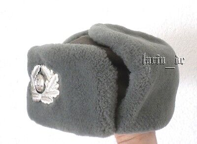 DDR NVA Stasi Grenztruppen Uniform Winter Mütze 55 / 56 East german army hat GDR