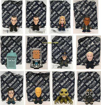"""9th Doctor Who TITANS 3"""" Fantastic Collection 12 Figure Complete Set *No Boxes*"""