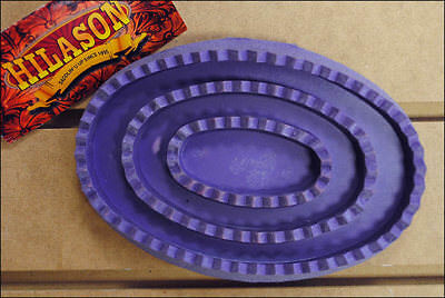 Purple Hilason Horse Tack Soft Rubber Large Curry Comb