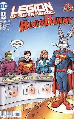 Legion of Super Heroes Bugs Bunny Special (2017 DC) #1A VF