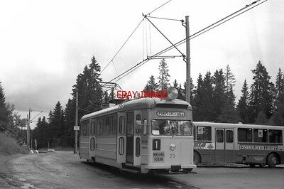 Photo  1990 Norway Tram Trondheim Lian Tram Nos 29