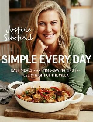 NEW Simple Every Day By Justine Schofield Paperback Free Shipping