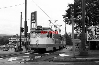 Photo  1993 Norway Oslo Tram Os Storo Tram No 295